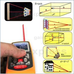 Digital Distance Meter Laser