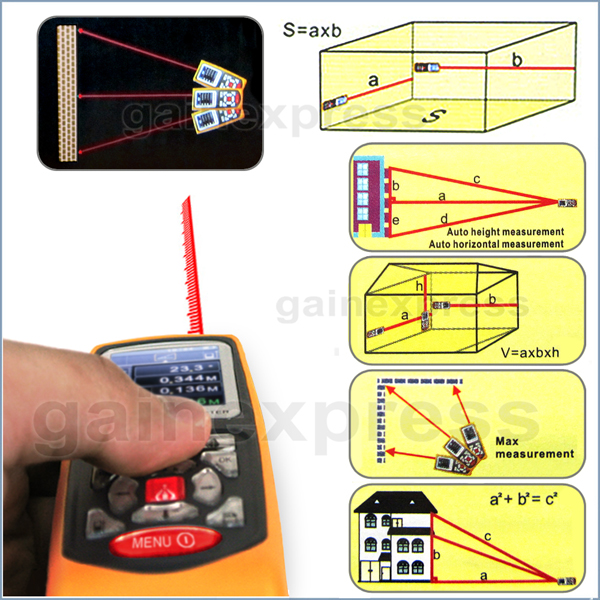 Digital Distance Meter Laser