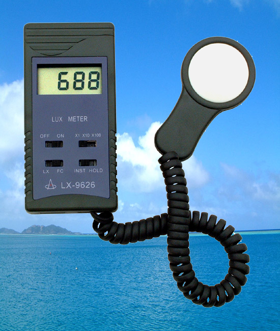 Digital lux meter-LUX9626
